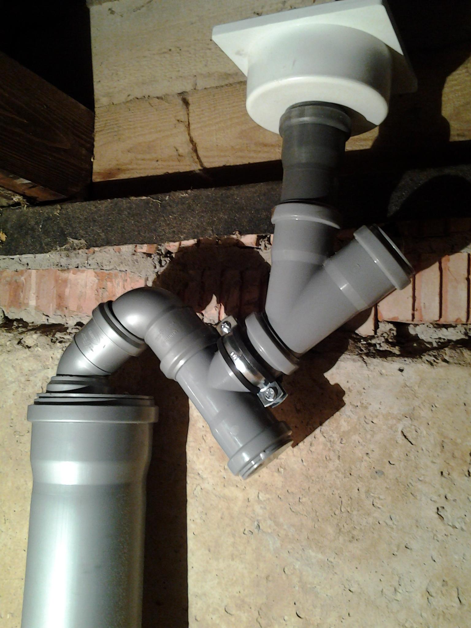 Гидрозатвор канализации своими руками 609